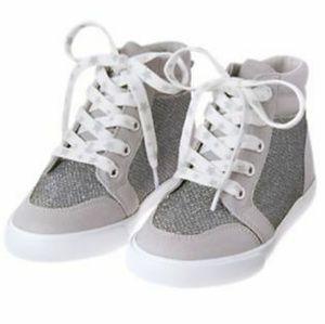 GYMBOREE Silver sneakers